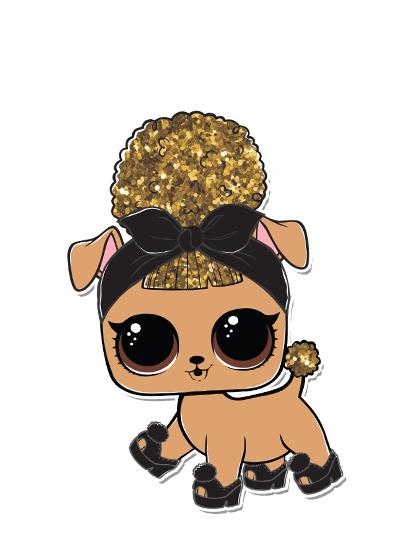 Series 3 Pup Bee Glitterati Club Lol Dolls Lol Cute Dog Pictures