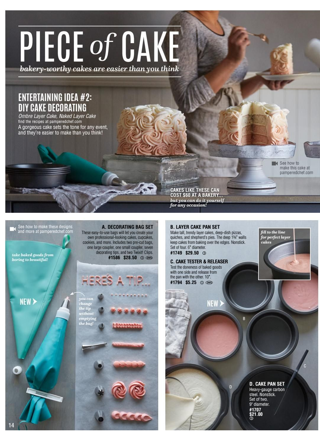 Fall/Winter 2016 Catalog by Pampered Chef - www.pamperedchef.biz ...