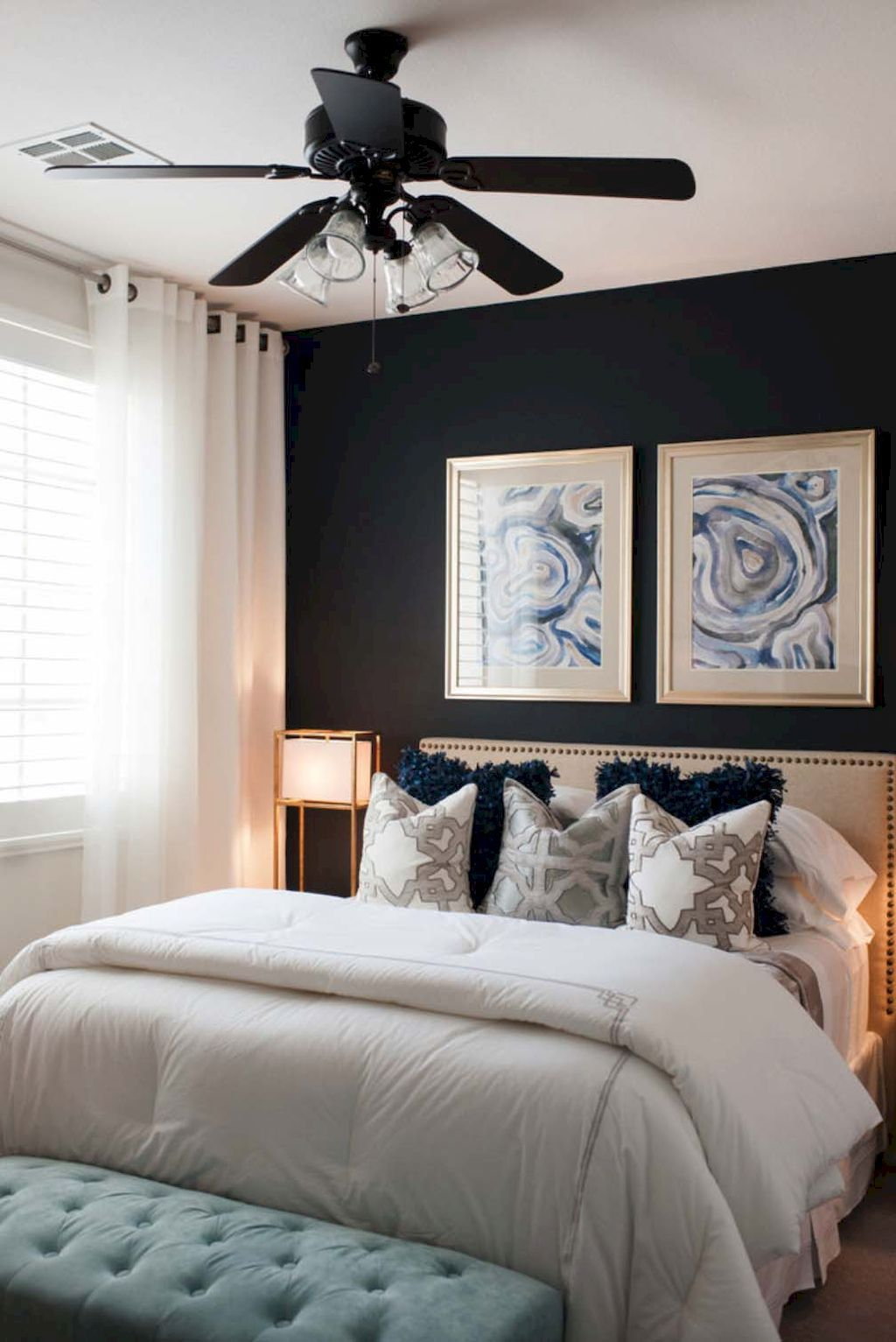 75 Small Master Bedroom Decorating Ideas | Small master bedroom ...
