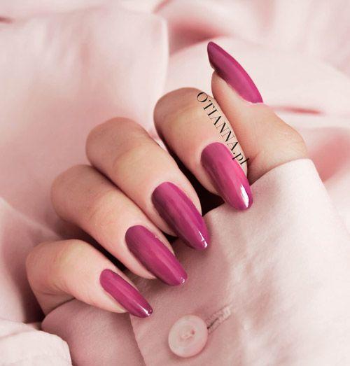 Lakier Do Paznokci Fuksja Kolor Z Czym Laczyc April Nails Nails Elegant Nails