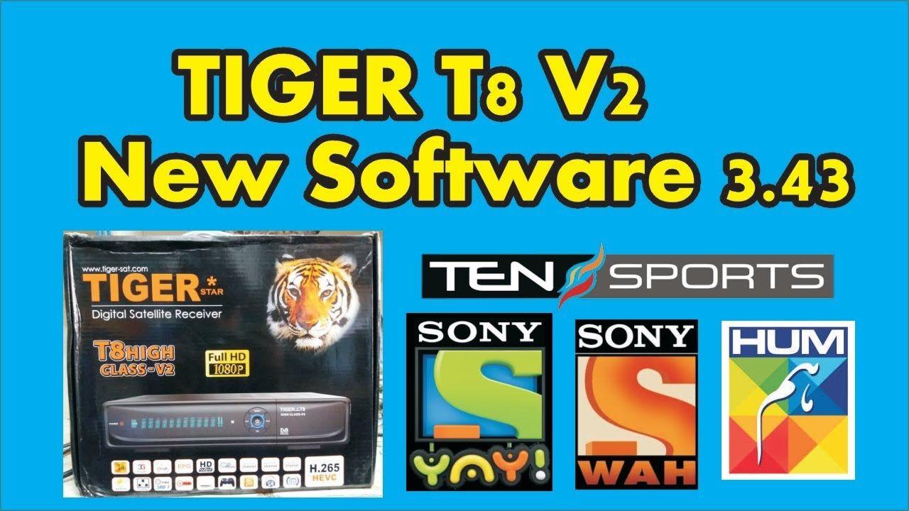 TIGER T8 HIGH CLASS V2 NEW SOFTWARE 3 43 #Ansar Dish info