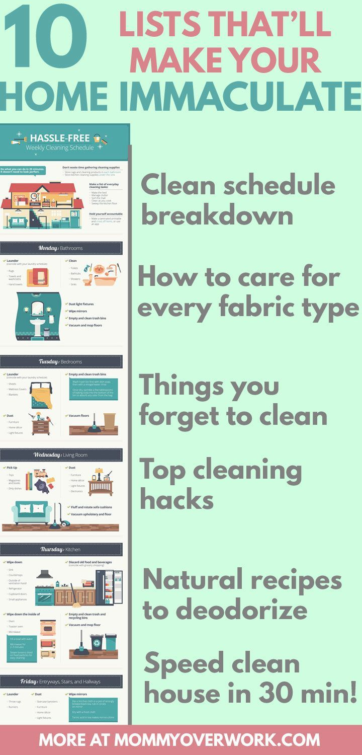 30 day house cleaning plan