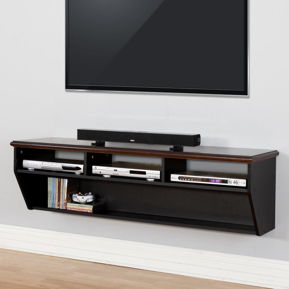 Martin Furniture Wall Mounted Tv Component Shelf You Found The - Meuble Tv Mobel Martin