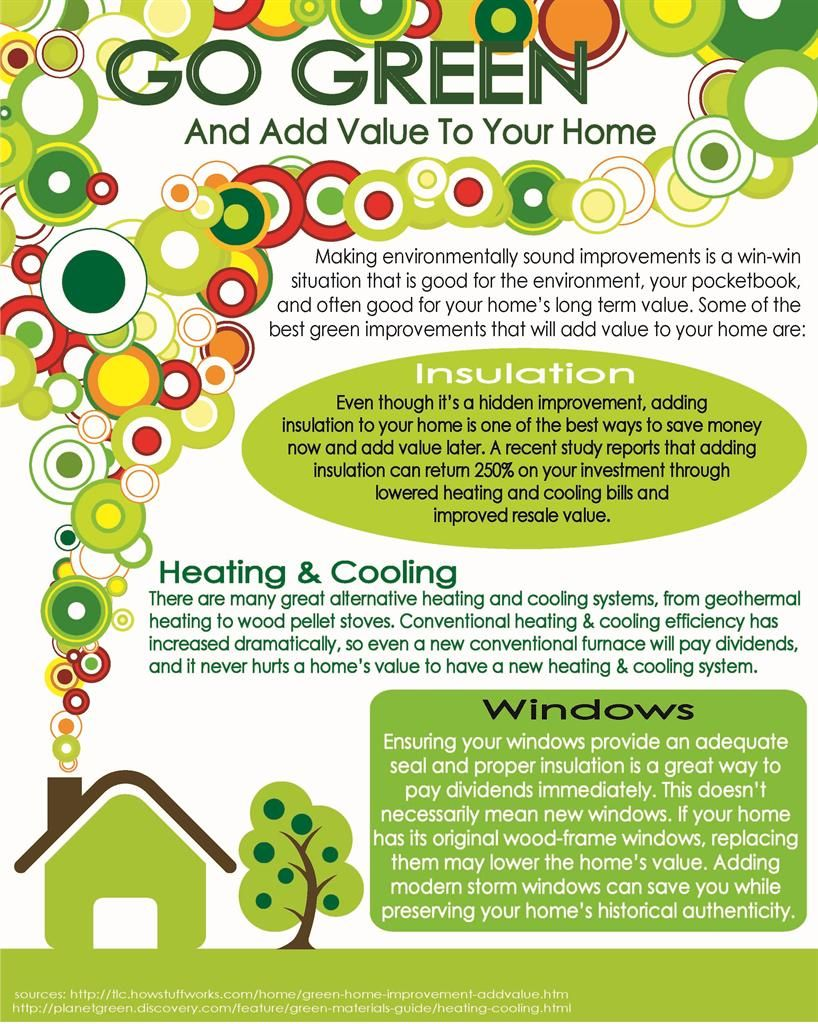 Adding Value To Your Home And Saving The Environment At The Same