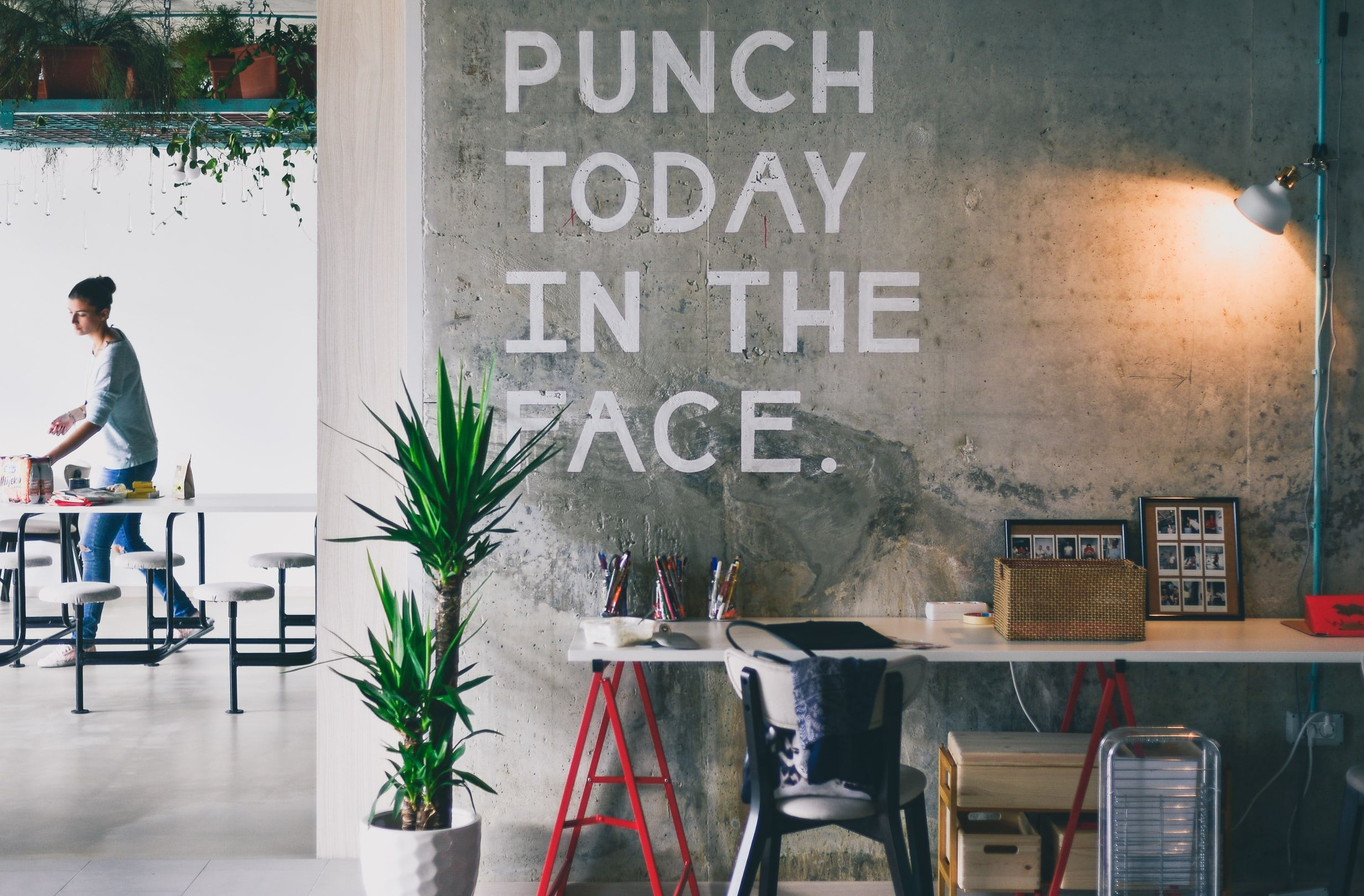 Punch Today In The Face In 2020 Things To Sell Real Estate Quotes Meal Planning Calendar