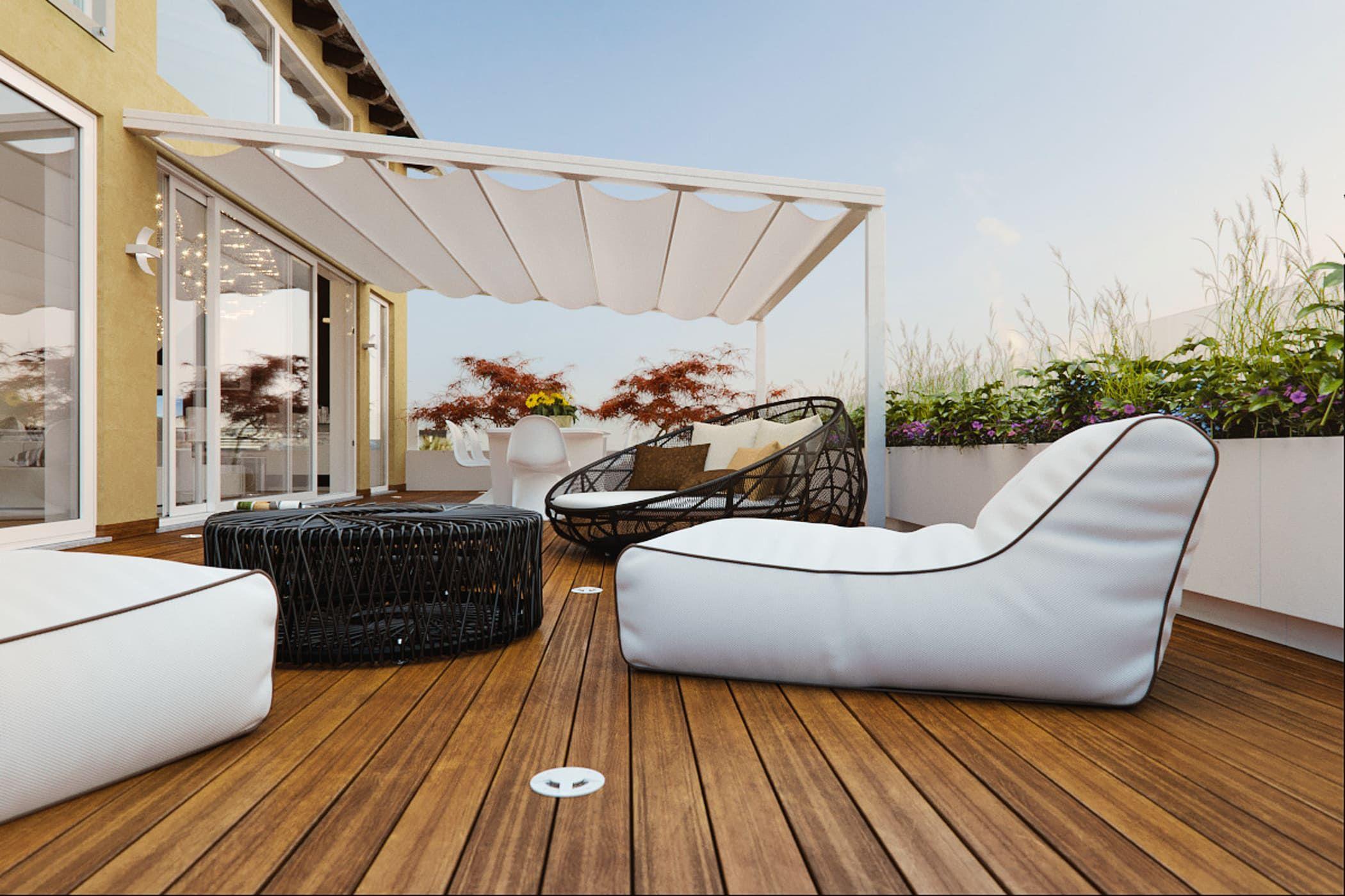 Idee Arredamento Casa & Interior Design | Dream garden, Balconies ...