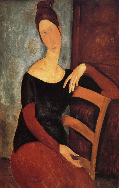 Portrait of the Artist's Wife, Jeanne Hebuterne, 1918. Amedeo Modigliani. Norton Simon Art Foundation.