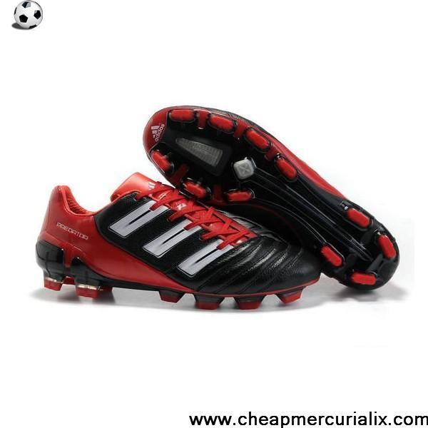 Buy New Adidas Adipower Predator Trx Fg Cleat Black Red White Football Shoes Store White Football Boots Nike Soccer Shoes Soccer Shoes