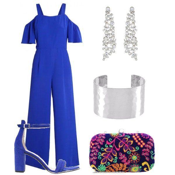 54b20f0efffd Colore nella clutch  outfit donna Chic per cerimonia e party ...