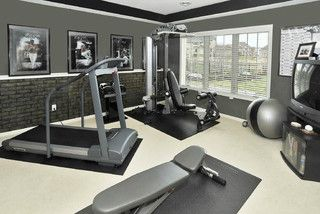 Whole house makeover contemporary home gym other metro by