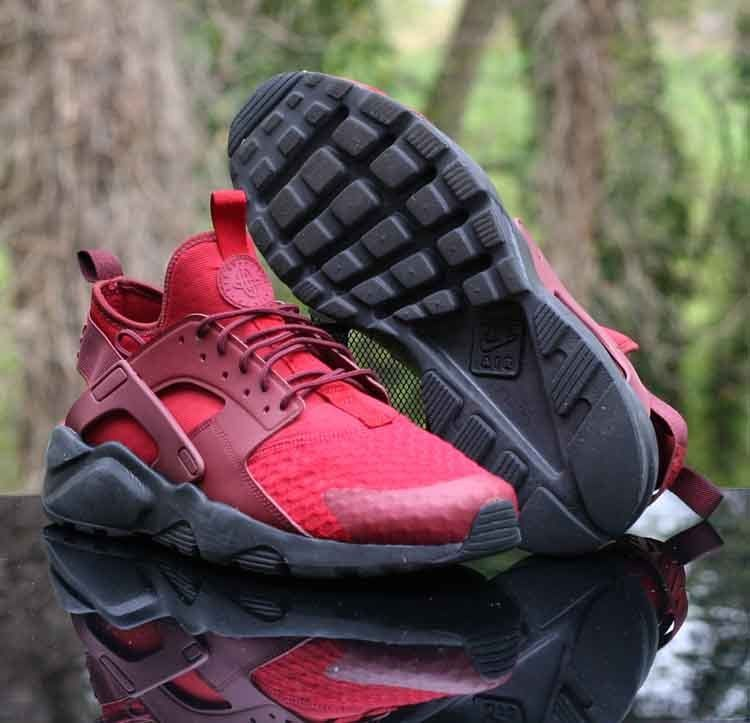 9486bfe9724930 Nike Air Huarache Ultra Tough Dark Team Red Black 819685-604 Men s Size 10   Nike  RunningCrossTraining