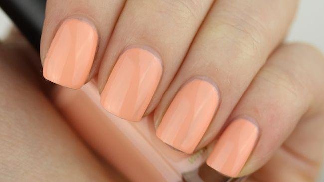 Swatch: Barry M - Peach Melba - Pinky Polish