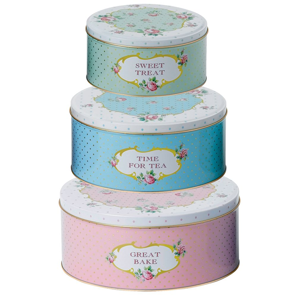 Royal Albert - Baking Bliss Cake Tin Set 3pce | Peter's of Kensington