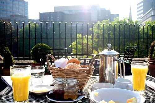 Breakfast On A Terrace Good Morning Breakfast Did You Eat Food Drink