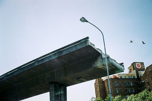 Unfinished Bridge in Cape Town