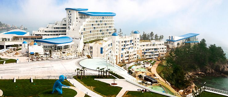Daemyung Resort Sol Beach Hotel Samcheok Jeju Island South Korean Film Location Of