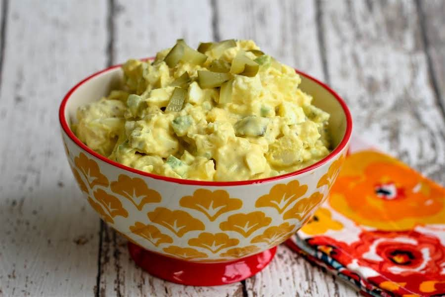 Potato Salad Recipe Pickles Mustard