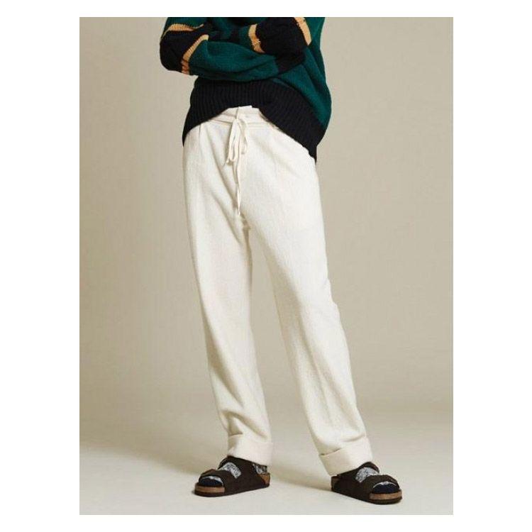NOHANT [Unisex] Rolled Up Pants Ivory