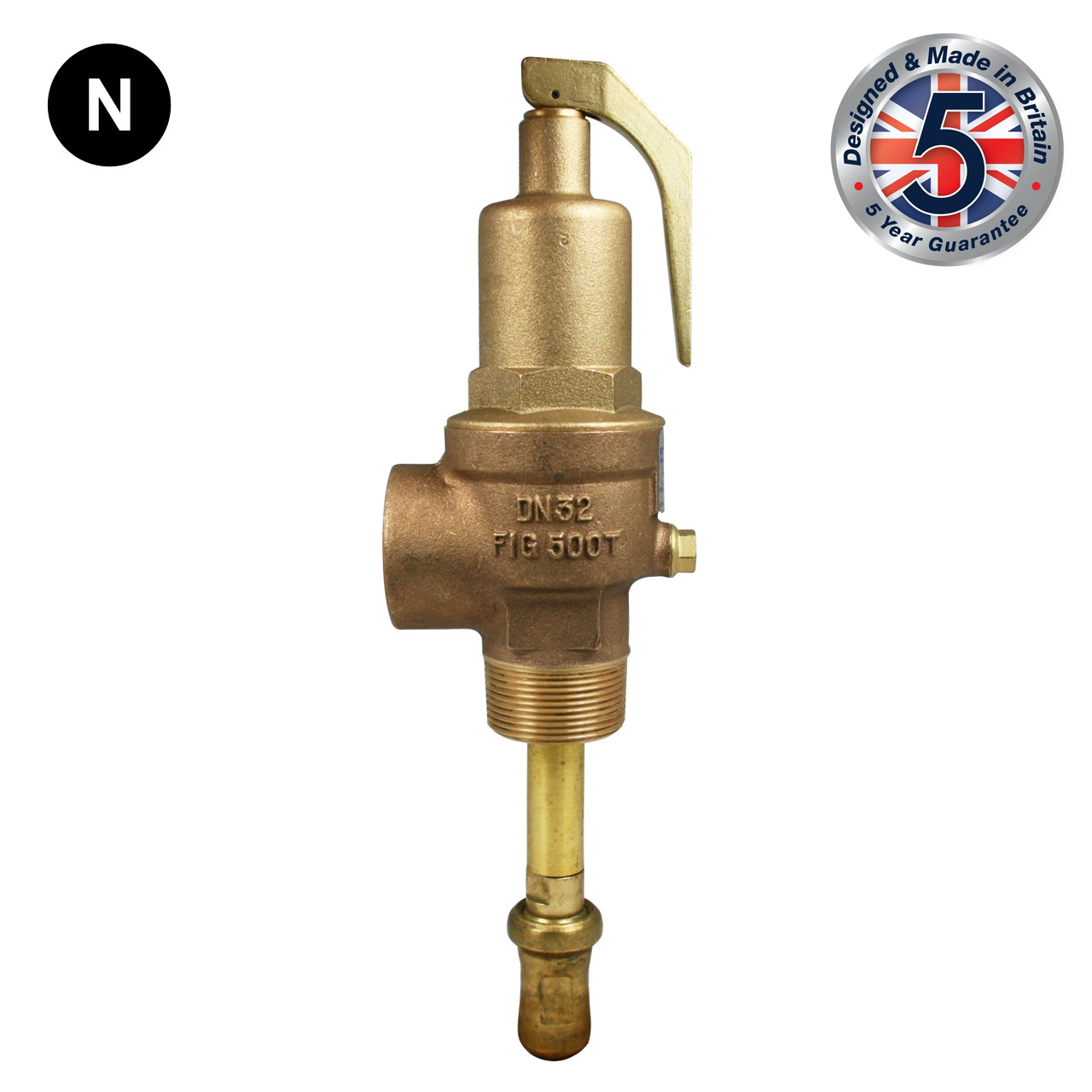 Nabic Fig 500T Combined Pressure & Temperature Relief