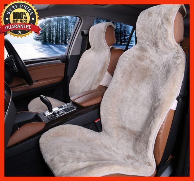 Peachy 1Pcs 100 Natural Australian Sheepskin Car Seat Covers Forskolin Free Trial Chair Design Images Forskolin Free Trialorg