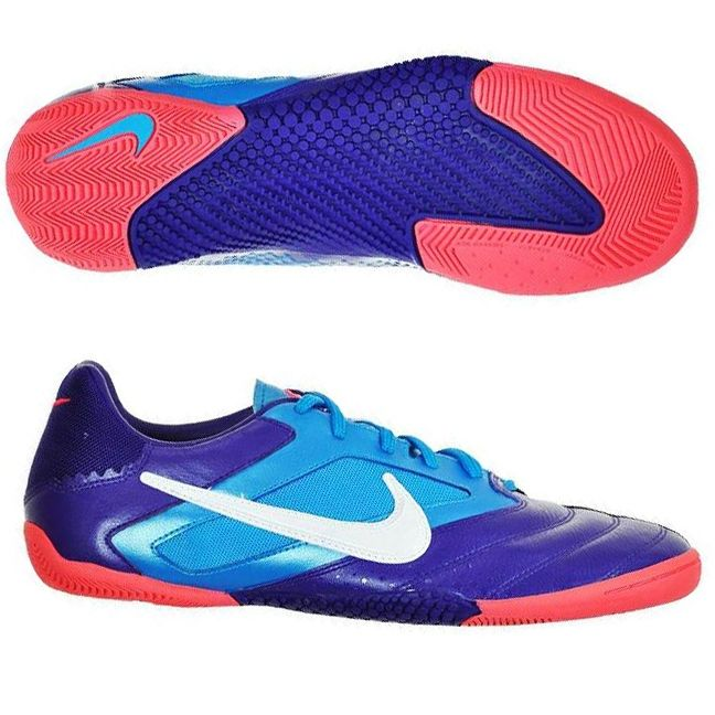 3639ddfdd Nike5 Elastico Pro Indoor Soccer Shoes (Club Purple/Current Blue/Hot  Punch/White)