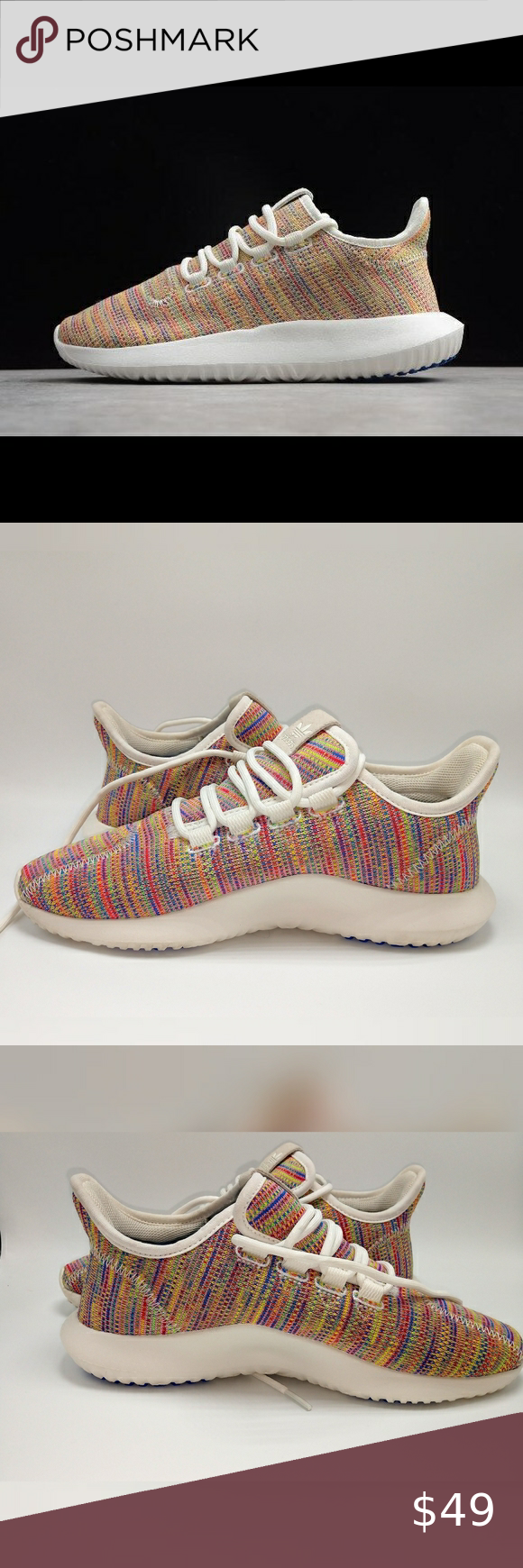 Adidas Tubular Shadow Knit Rainbow