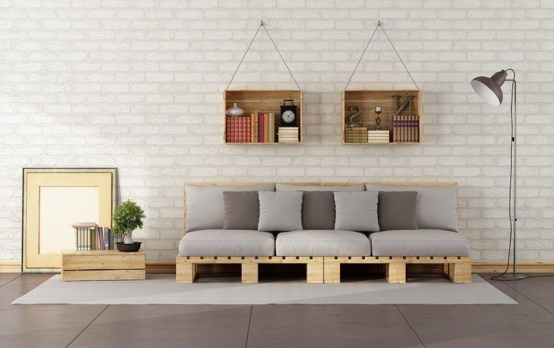 Selbst gebautes Sofa für das Kinderzimmer!