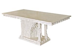 Good Mactan Stone Dining Table Bellagio   Modern Furniture And Lighting Design