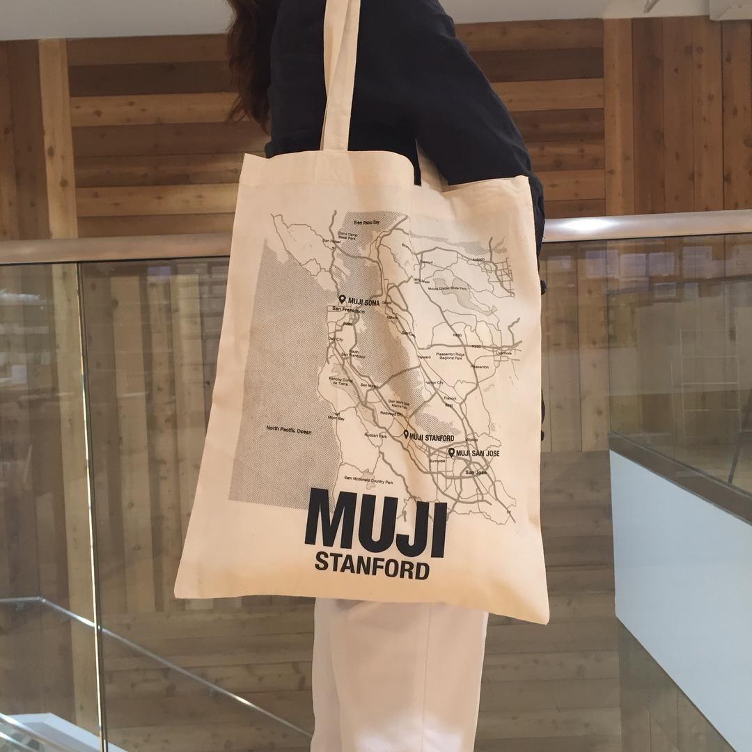 7ce06c38e #MUJIStanford Muji Usa, My Bags, Packaging Design, Amanda, Reusable Tote  Bags