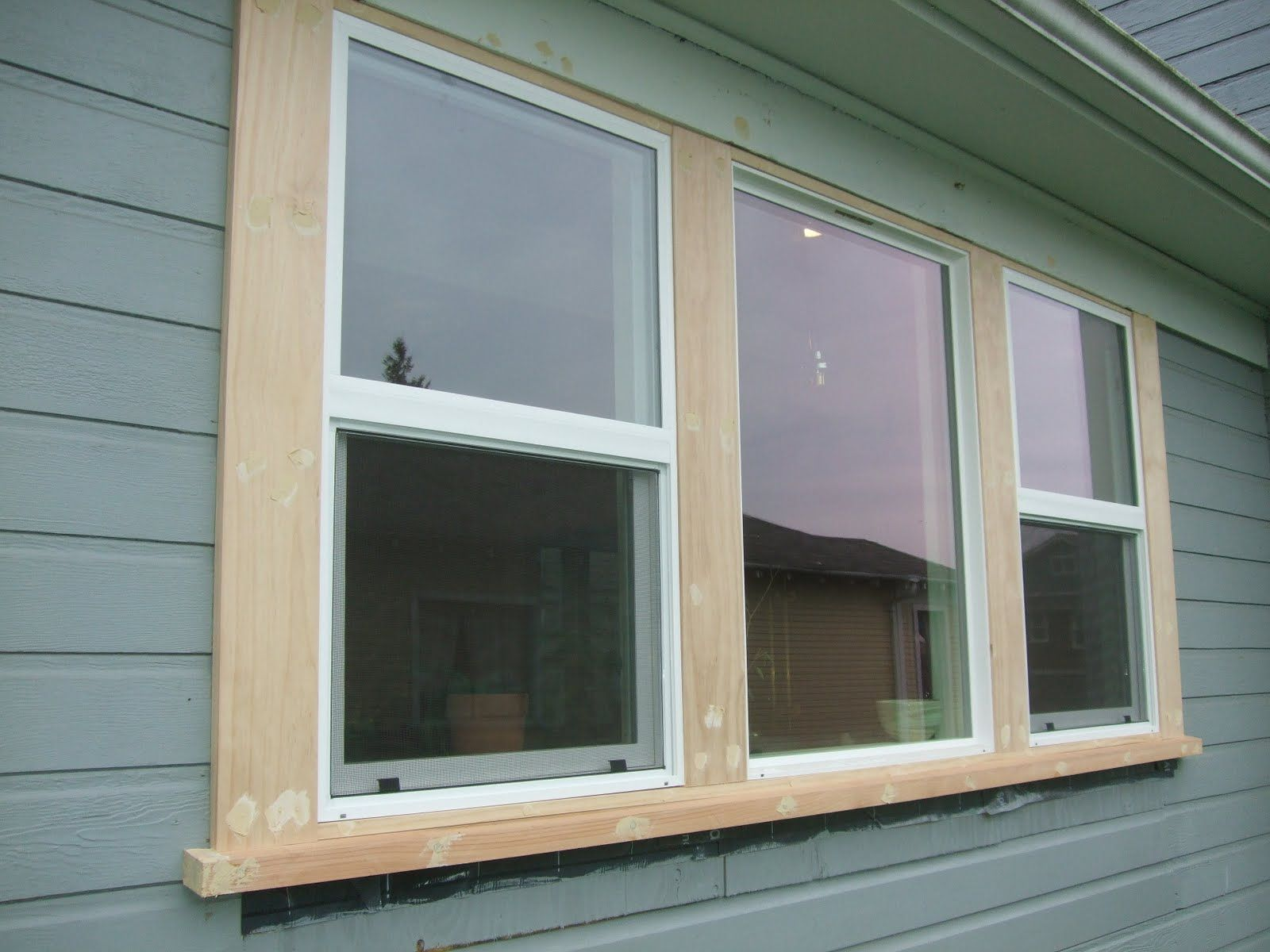 How to Install Exterior Trim Around a Window | Exterior window ...