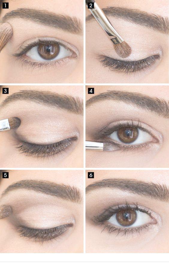 15 ideas simples de maquillaje de ojos para ropa de trabajo