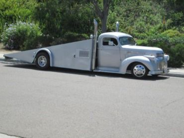 Purchase New 1946 Chevy Tow Truck Street Rod Custom Chopped Dually Car Hauler In Indio California United States Tow Truck Custom Trucks Custom Truck Parts