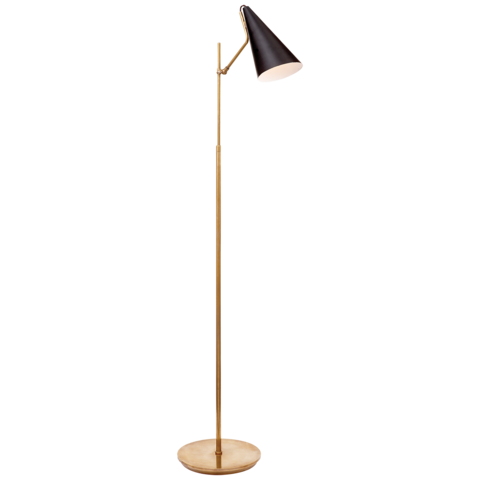 Clemente Floor Lamp Black With Images Floor Lamp Desk Lamp Design Lamp