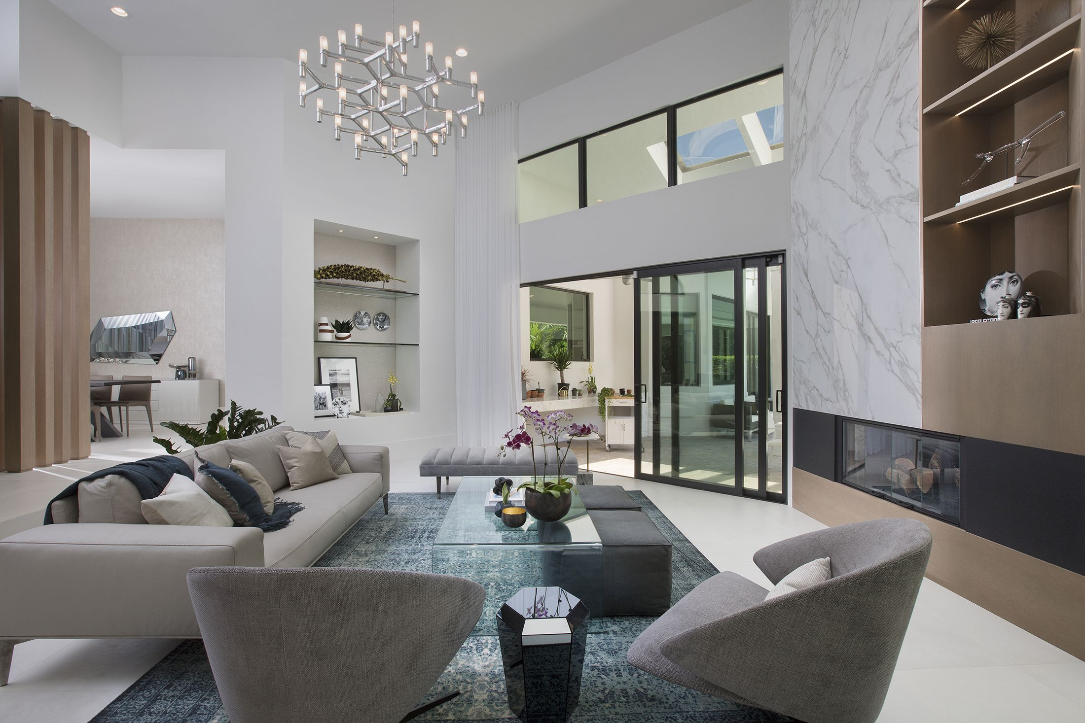 Interior Design Coral Gables A Cocoplum Contemporary Oasis Living Room Design Modern Living Room Modern Interior Design
