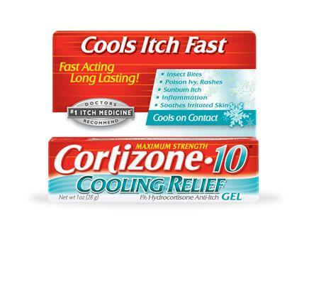 Cortizone 10 Cooling Relief Anti Itch Gel Anti Itch Itch