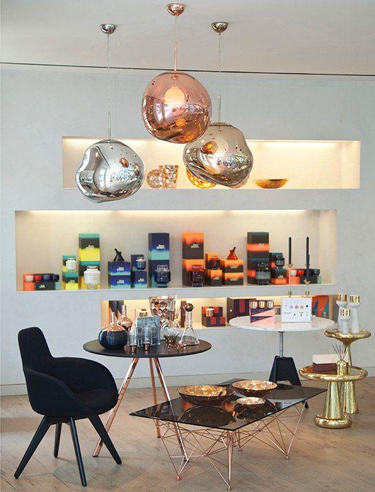 Elie Tahari Collaborates With Tom Dixon In East Hampton New York Lighting Design Interior Tom Dixon Tom Dixon Lighting