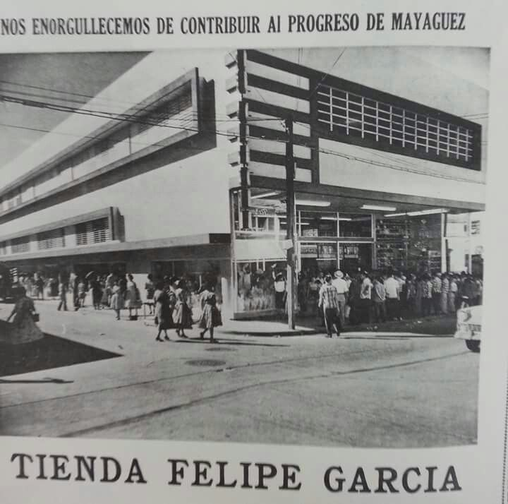 Tienda Felipe García, Mayagüez