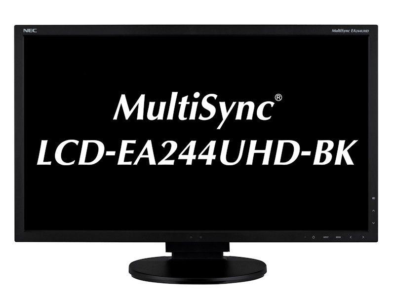 NEC MultiSync LCD-EA244UHD-BK | 4K LCD