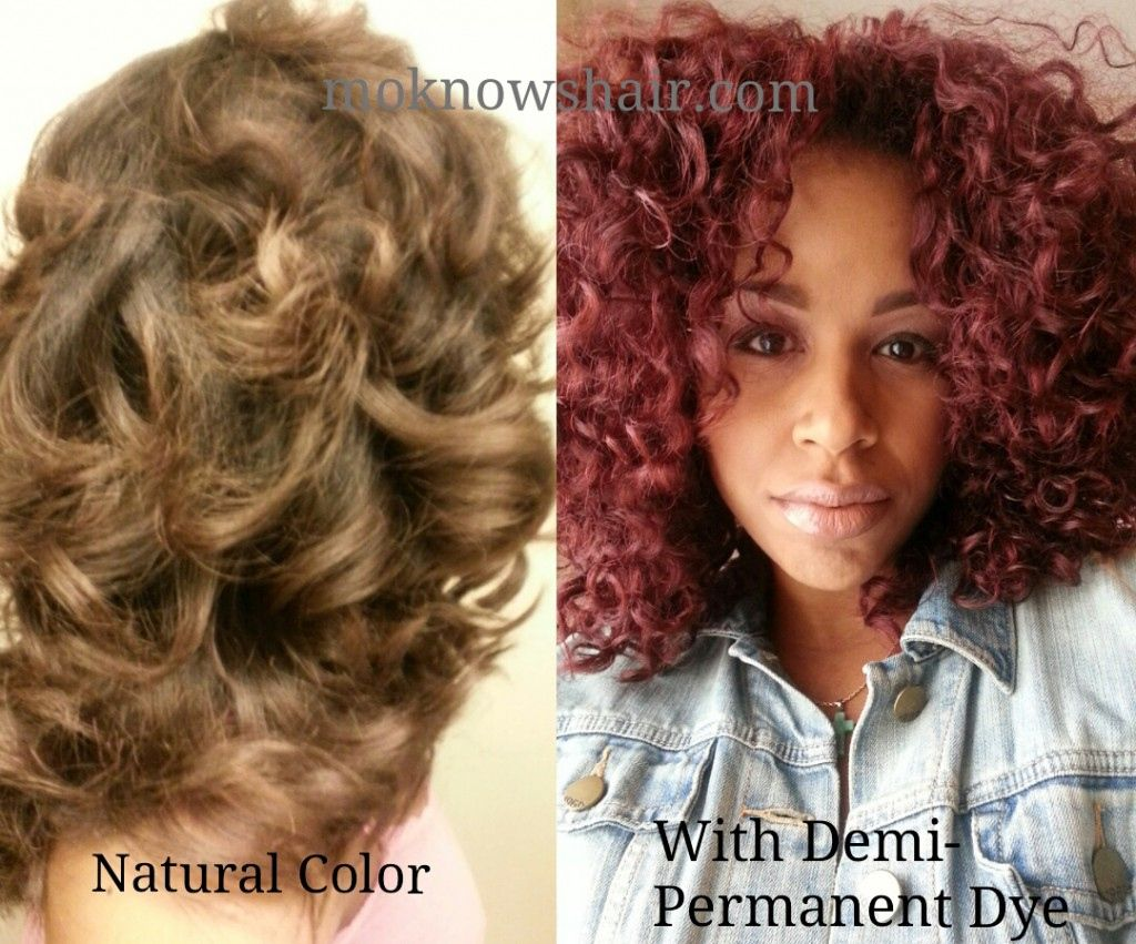 Temporary Burgundy Hair Color Best At Home Semi Permanent Hair