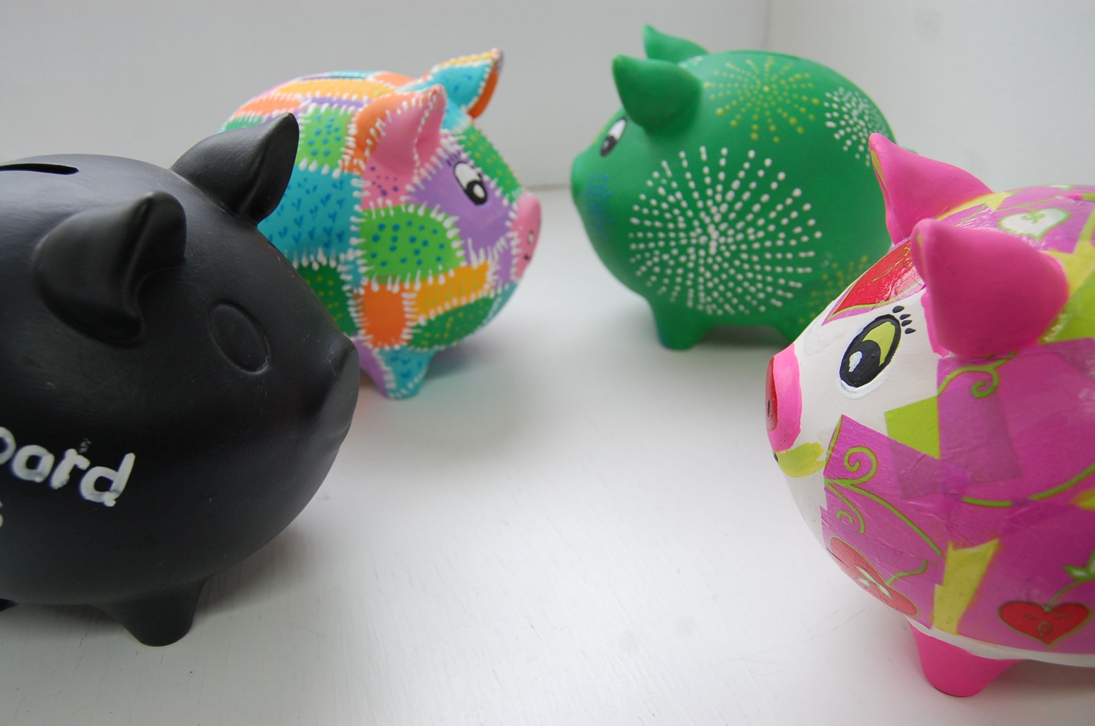 Paint Your Own Piggy Money Boxes Our Piggy Banks Can Be Painted