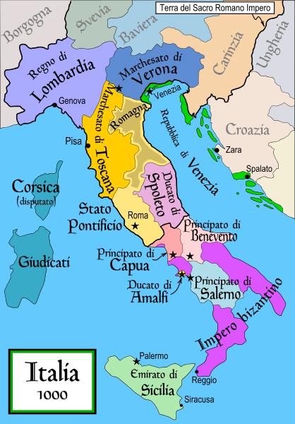 Mappa Dell Italia Wikipedia.File Italia 1000 V2 Svg Wikipedia Storia Mappe Antiche Mappa Dell Italia