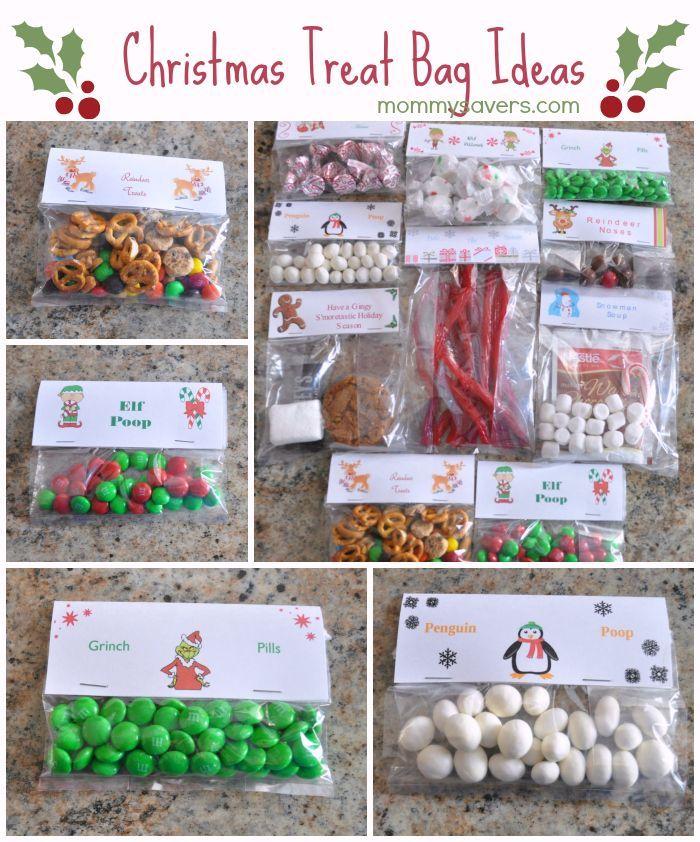 christmas treat bag ideas ten creative examples new teachers pinterest creative examples. Black Bedroom Furniture Sets. Home Design Ideas
