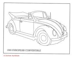 Vw Coloring Pages