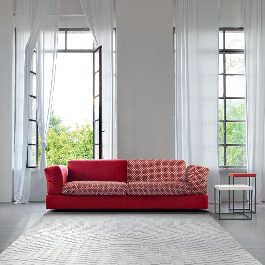 Divano Rosso E Grigio arredare il soggiorno con il divano rosso (com imagens