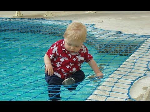 How To Put On Pool Safety Net Covers All Safe Pool Nets Youtube Safe Pool Swimming Pool Safety Pool Safety