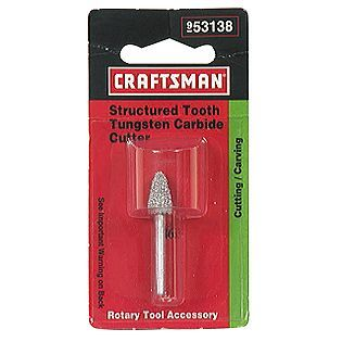 Craftsman -5/16 in. Wide Structured Tooth Tungsten Cutter
