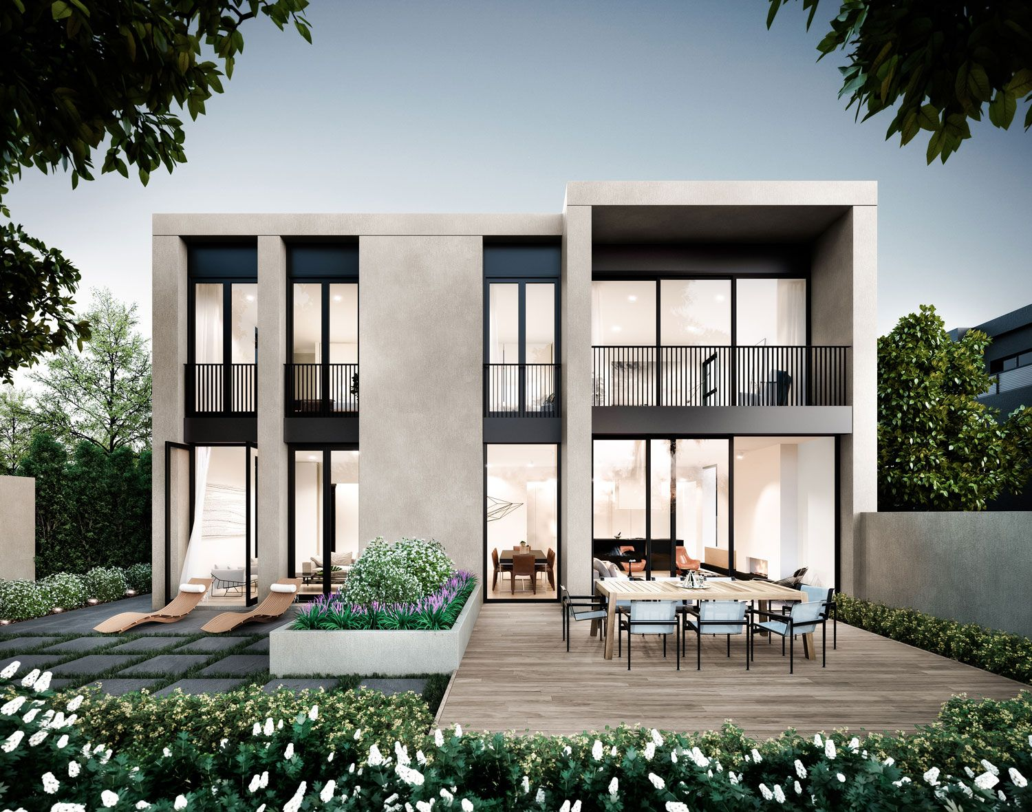 Conrad architects one ascot also best house ideas images rh pinterest