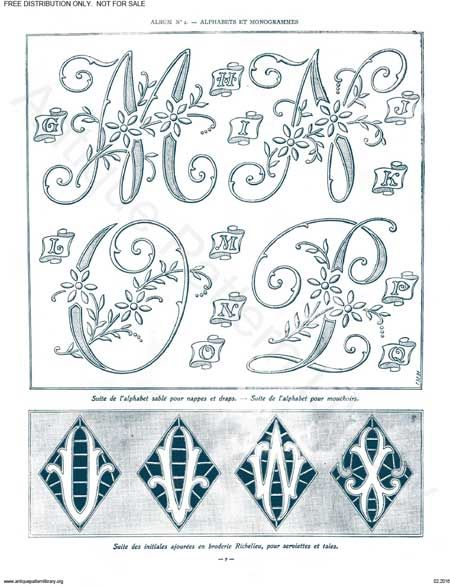 17 Best images about Embroidery: Monograms on Pinterest   Hand ...