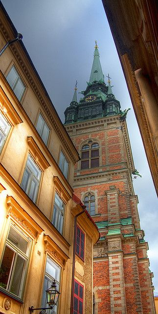 Storkyrkan or Sankt Nikolai kyrka (Saint Nicolaus Church) in Stockholm's Gamlastan (Old Town), Sweden by agr8one