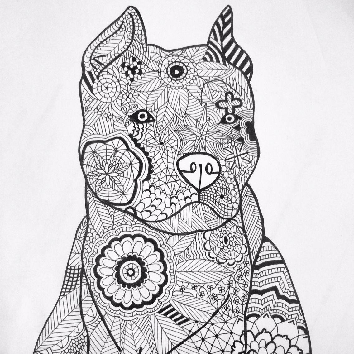 Hund Tegnet I H 229 Nden Tegning Tegninger Og Tegn